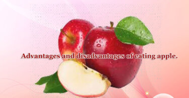 Advantages and disadvantages of eating apple